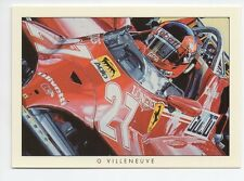 # 4 GILLES VILLENEUVE Racing Legends F1 commercio CARD