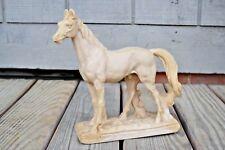 Antique Soapstone Arabian Horse Hand Carved Art Statue