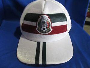 seleccion mexicana white gorra cap mesh