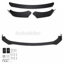 Carbon Fiber Front Bumper Lip Spoiler Splitters For Infiniti Q50 Q60 Q70 G25 G37