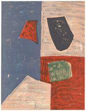 Serge Poliakoff original lithograph