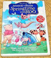 Winnie the Pooh Springtime with Roo Kids & Family Anime Walt Disney SEALED NEW