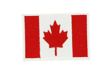 FLAG PATCH PATCHES CANADA CANADIAN for BACKPACKS IRON ON EMBROIDERED WORLD FLAG