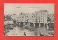 Meaux - Altes Moulins Gebaut auf Stelzen (J5095)