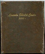 Dansco Album - Lincoln Shield Cent / Pennies 2010 - Penny Coin Folder 7104 - NEW