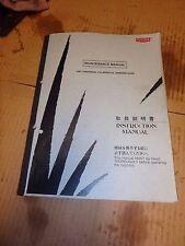 Toyoda CNC Universal Cylindrical Grinder GU4 Maintenance Manual