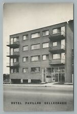 Hotel Pavillon Bellechasse MONTREAL Vintage Advertising CPA Quebec 1950s