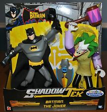 RARE TOYS R US EXCLUSIVE SHADOWTEK BATMAN AND THE JOKER ONLY 1 SET ON ALL E-BAY