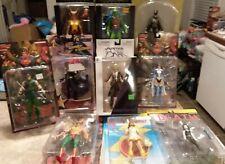 Dc Sealed Action Figure Lot Set Death Zatanna Batwoman Justice League Hawkgirl