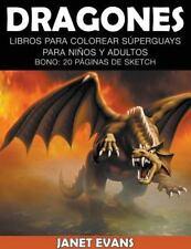Dragones: Libros Para Colorear Súperguays Para Niños y Adultos (Bono: 20 Página