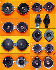 Assorted AIWA JVC KENWOOD LG PIONEER SHARP Small Tweeter Speakers