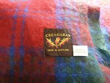 More details for vintage creagaran blanket/throw size 50