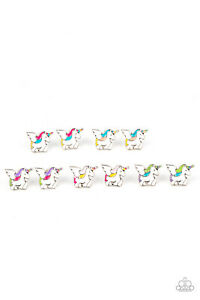Paparazzi Starlet Shimmer ~ Unicorn 🦄Earrings Set of 5 ~ 🦄NEW RELEASE 2021🦄