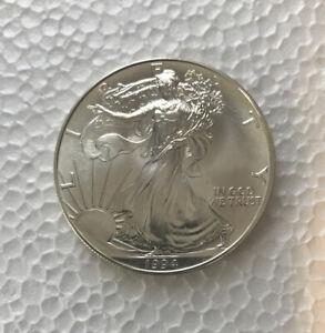 MX2- 1994 1 oz Silver American Eagle BU excellent Condition