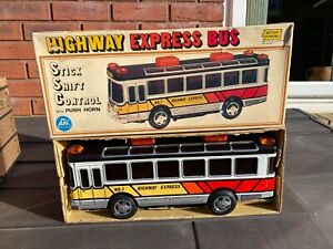 ALPS Japan No 155 Highway Express Bus In Its Original Box - Near Mint Rare