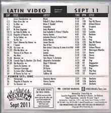 Promo only LATIN video SEPT 2011 PITBULL & MARC ANTHONY Antonio Orozco & Luis F.
