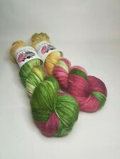 SW Merino Alpaca Nylon yarn, 4-ply, fingering weight, 100g, VINTAGE CHRISTMAS
