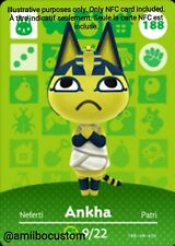 Ankha/Neferti - Animal Crossing New Horizons - Carte amiibo NFC Custom