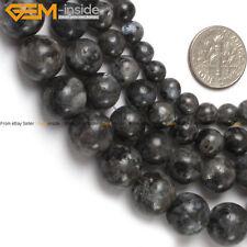 "Natural Stone Labradorite Gemstone Beads For Jewelry Making 15"" Jewelry Beads"