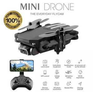 SET |Drone RC Drones 4K HD Camera GPS WIFI FPV Foldable Quadcopter+Battery+Bag✔✔