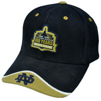 NCAA Notre Dame Fighting Irish Top of The World 100 Years Victory March Hat Cap