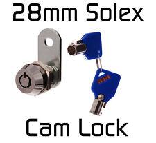 Solex 28mm CAM LOCK Tool Box Ute Hard top Desk Quility Security (AU SELLER)