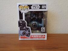 Star Wars TIE Fighter Vinyl Vehicle w/ TIE Pilot Deluxe Funko Pop! #221 IN STOCK