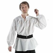 Mittelalter Piraten Schnürhemd Mittelalterhemd Baumwolle Piratenhemd Hemd HEMAD