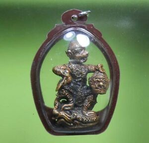 PERFECT! OLD BUDDHA AMULET LP KARHONG VERY RARE FROM SIAM !!!
