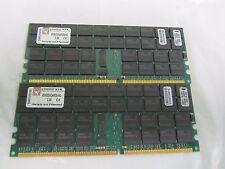 8GB(2X4GB) KVR333Q4R25/4G  PC2700 DDR-333MHz ECC Registered CL2.5 184-Pin DIM