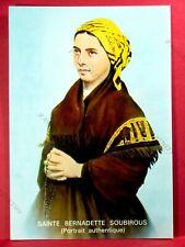 SAINTE BERNADETTE SOUBIROUS (portrait authentique) - LOURDES TBE*