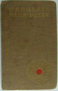 L'Anglais sans peine Méthode quotidienne Assimil par A. Chérel Édition 1959