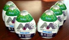 6 Bottles MiO Vitamins Blackberry Rapberry Liquid Water Enhancer (BB - JUN 2019)