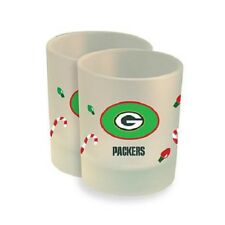 Officially Licensed NFL 2-pack Christmas Rocks Glasses ~New ~ PACKERS