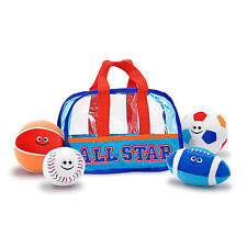 L@@K Melissa and Doug 3053 Sports Bag Soft Baby Toy Ships Global NEW !!