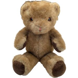 Vintage Russ Berrie Carnaby Teddy Bear Plush Stuffed Toy Patch Paws K-01 4717