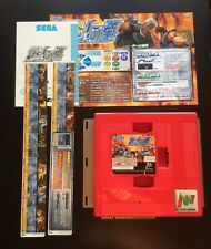 Atomiswave - Hokuto No Ken Jap + Artset + Motherboard - Sega - Sammy - Jamma