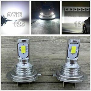 H7 LED Headlight Bulbs Kit High Low Beam 40W 7000LM Super Bright 6000K White