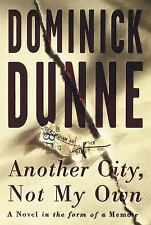Dominick Dunne, Another City Not My Own, Novel OJ Simpson Trial, First Edition