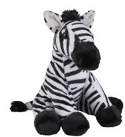RAVENSDEN SOFT TOY ZEBRA 18CM - FR002Z CUDDLY TEDDY PLUSH CUTE FURRY FLUFFY