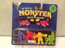 4 Pack figurine figure Blister Mimp Monster in my Pocket 09 Vintage toys
