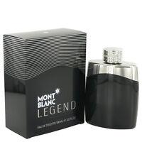 Mont Blanc Montblanc Legend Cologne Men ED Toilette Spray New 1.7*3.4*1*5.1 oz