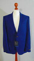 AUSTIN REED The CHELSEA Mens Navy Hopsack Single Breasted Suit Blazer Jacket 42R