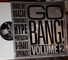 GO BANG! VOLUME 2 / LP (SHAKE INC, QUAZAR, SUPERMATIC, TURNTABLE HYPE, D-SHAKE)