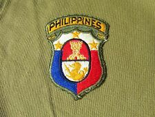 US Army Philippine General Staff Patch
