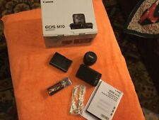 Canon EOS M10 Digital Camera with EF-M15-45mm f/3.5-6.3 IS STM Zoon Lens Kit NEW