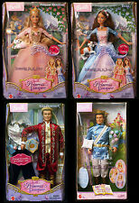 Erika Barbie Doll Anneliese King Dominick Princess and the Pauper Ken Dent Lot 4