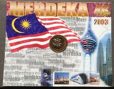 Coin Card 46th Independence 2003 new
