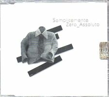 ZERO ASSOLUTO - SEMPLICEMENTE - CD SINGLE ( NUOVO SIGILLATO )
