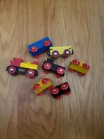 Brio Wooden Train Cars battery powered Set